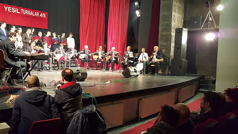 """""""Yeşil Turnalar"""" Konseriyle """"Doğru Yol"""" TKSD 65. Yıldönümü Kutladı"""