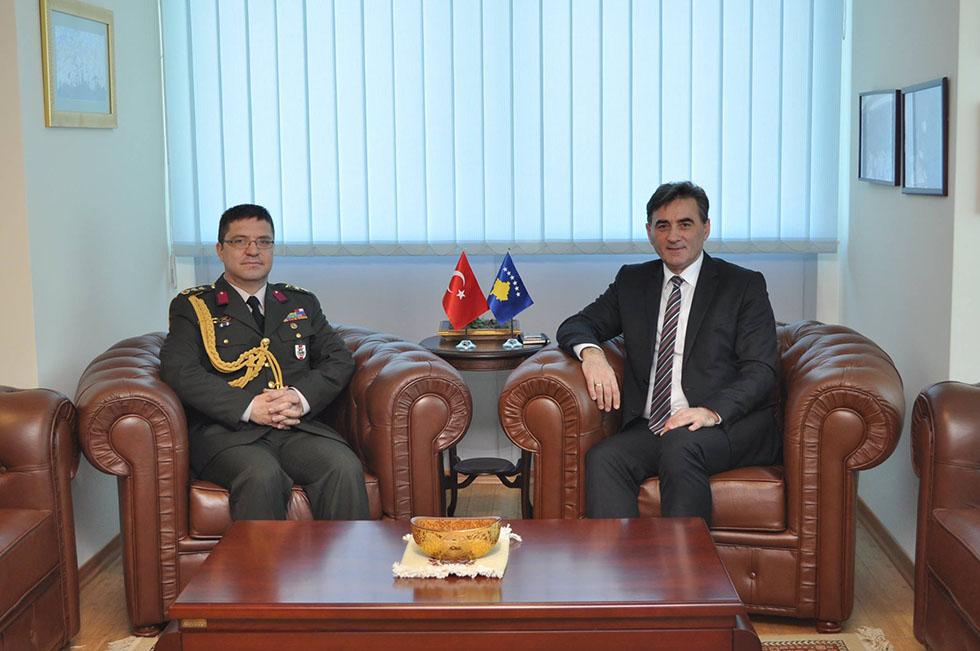 Genel Başkanımız Kurmay Yarbay Necdet Özdemir'i kabul etti