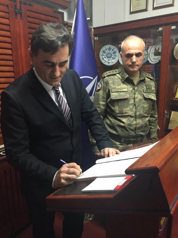 Genel Başkanımız Türk Temsil Heyet Başkanlığı'nı Ziyaret Etti