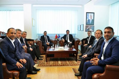 Genel Başkanımız MÜSİAD Heyetini Kabul Etti