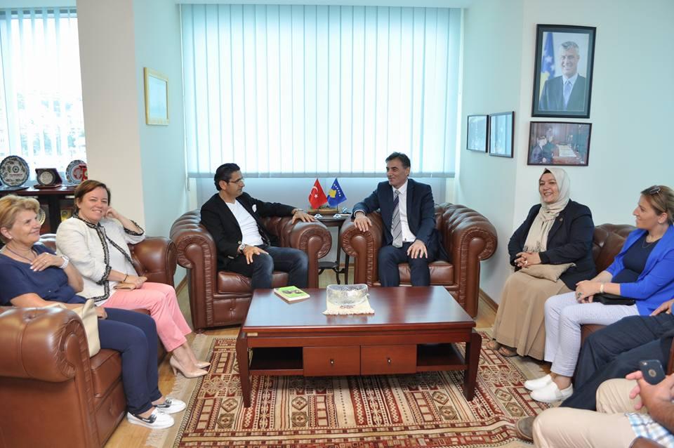 Genel Başkanımız Beykoz Belediyesi heyetini kabul etti