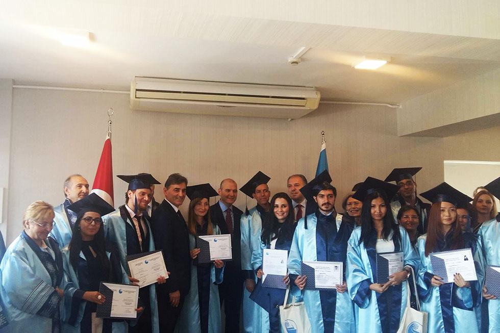 TODAEİ Diploma Töreni'ne Parti Yetkilileri Katıldı