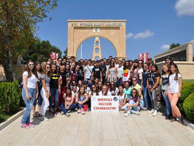 Kosova'lı 15'lilerden Çanakkale'ye Ziyaret
