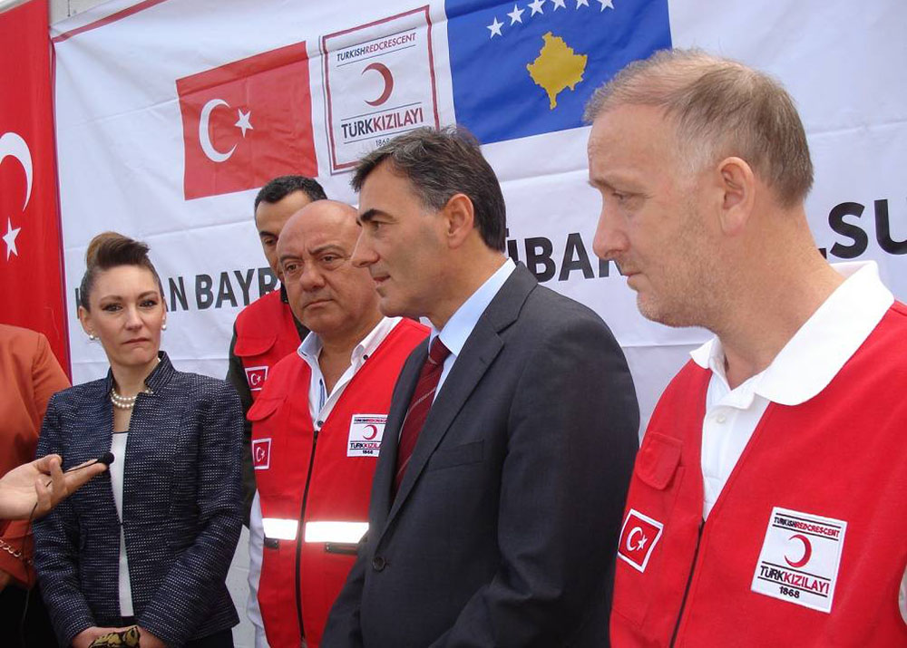 Türk Kızılay'ından 5.000 Aileye Yardım