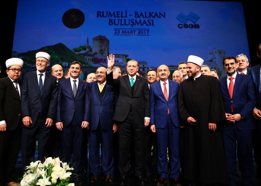 Genel Başkanımız ve Bakanımız Mahir Yağcılar, Rumeli-Balkan Buluşması'nda
