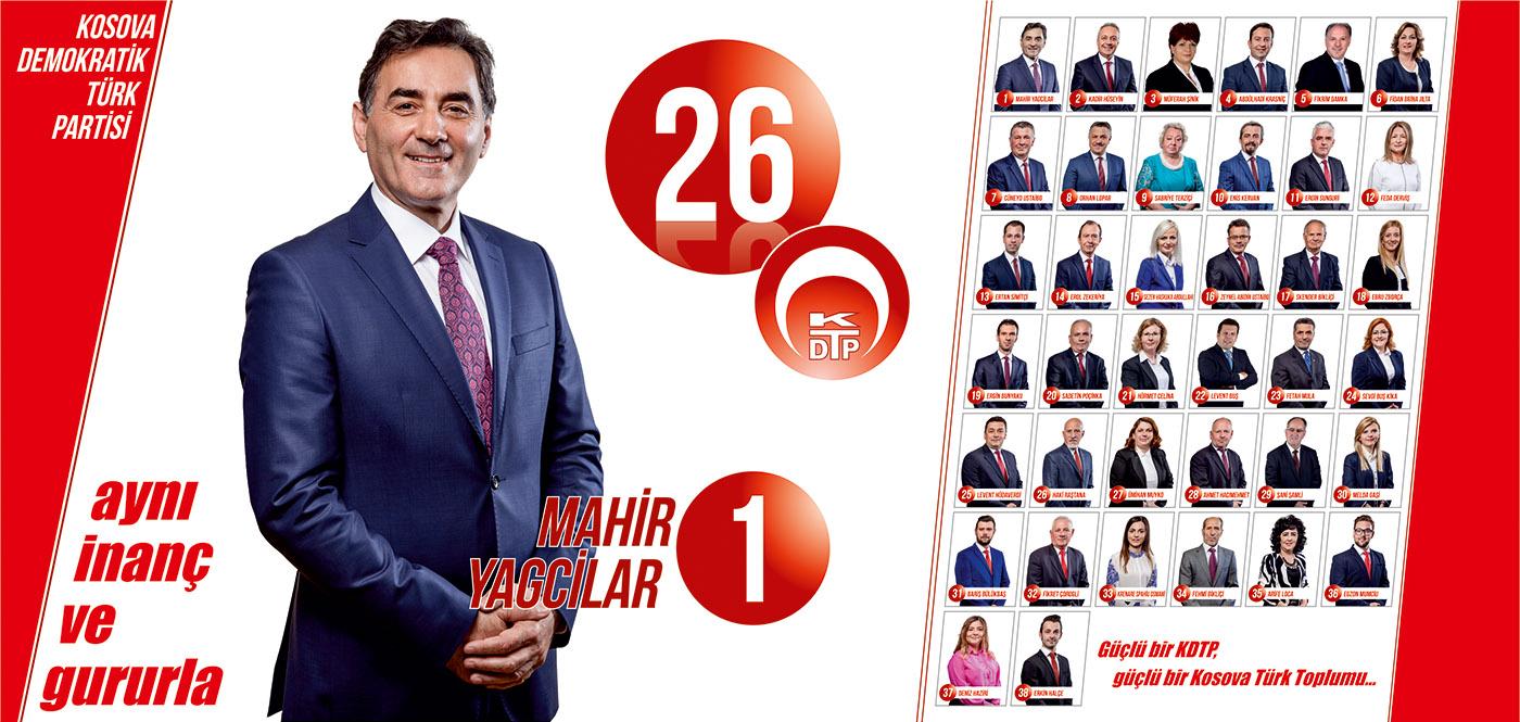 26√ KDTP Milletvekili Adayları