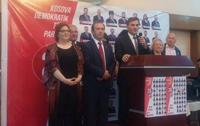 KDTP Mitroviça Milletvekili Adaylarının Tanıtımını Yaptı