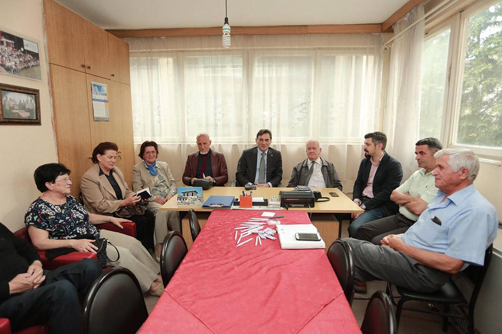 Prizren'de bulunan Emekliler Derneğini ziyaret ettik