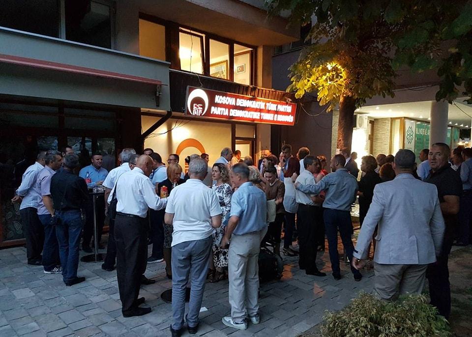 KDTP Bayramlaşmasında Partililer ve Halk Bayramlaştı