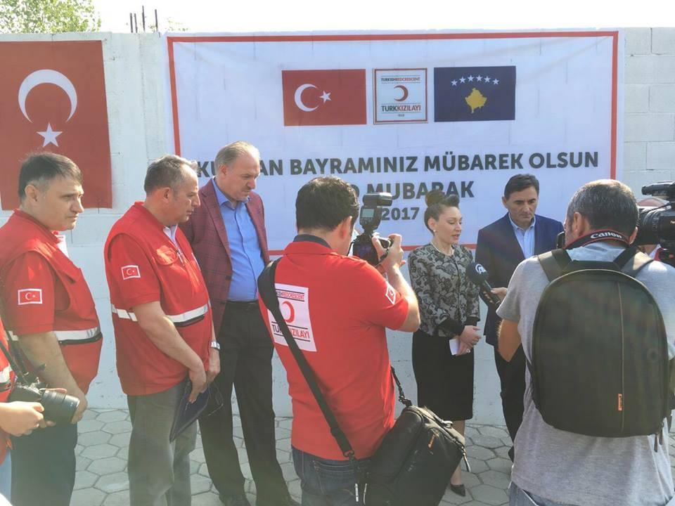 Türk Kızılay'ının Kosova'da Kurban Organizasyonu