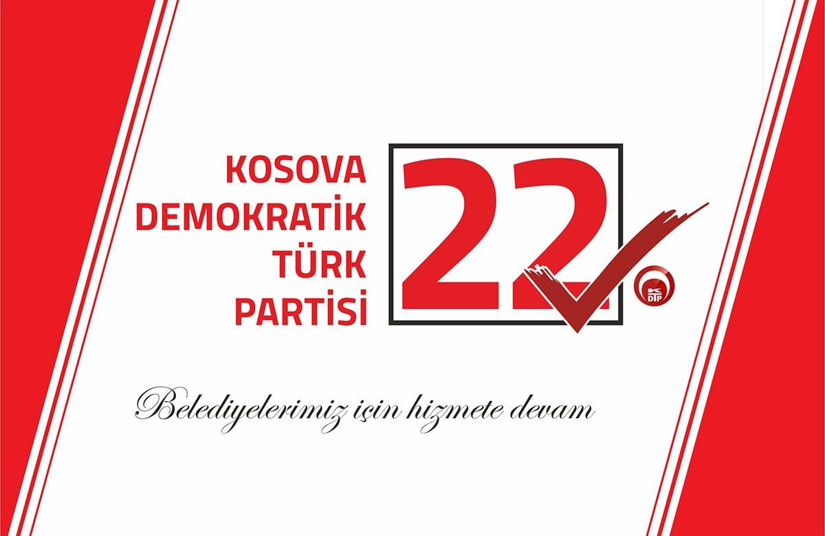 22√ KDTP – Kosova Demokratik Türk Partisi