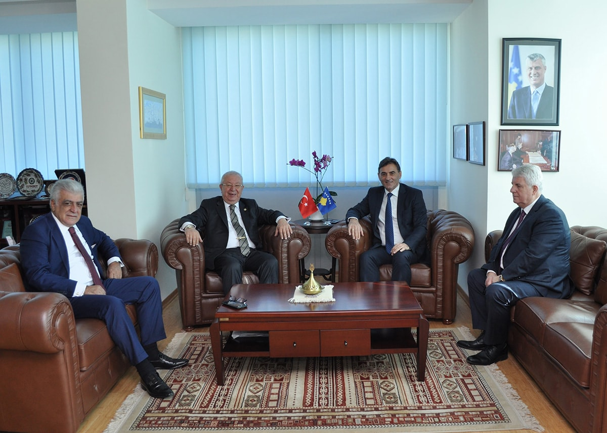 Genel Başkanımız Mahir Yağcılar, Marmara Grubu Genel Başkanı Dr.Akkan Suver makamında kabul etti