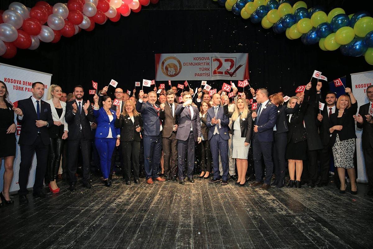 KDTP 22 Ekim'de Toplumun Geleceği İçin 22'ye Oy İstedi