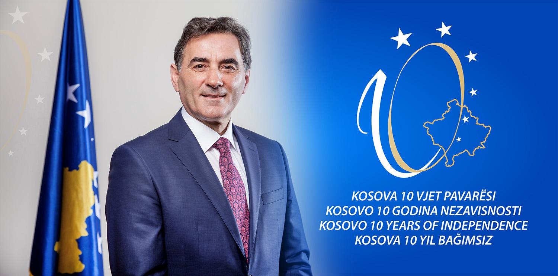 Genel Başkanımız, Kosova'nın 10. Bağımsızlık Yıldönümünü Kutlama Mesajı