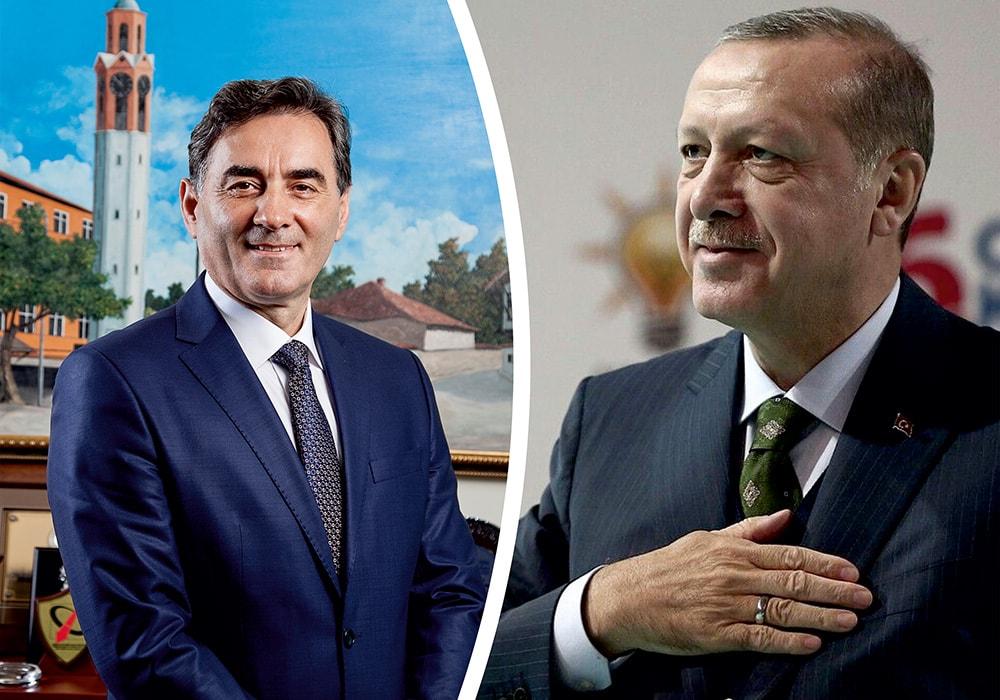 Genel Başkanımız Mahir YAĞCILAR'dan Cumhurbaşkanı Erdoğan'a tebrik mesajı