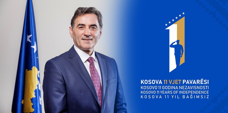 Genel Başkanımız, Kosova'nın 11. Bağımsızlık Yıldönümünü Kutlama Mesajı