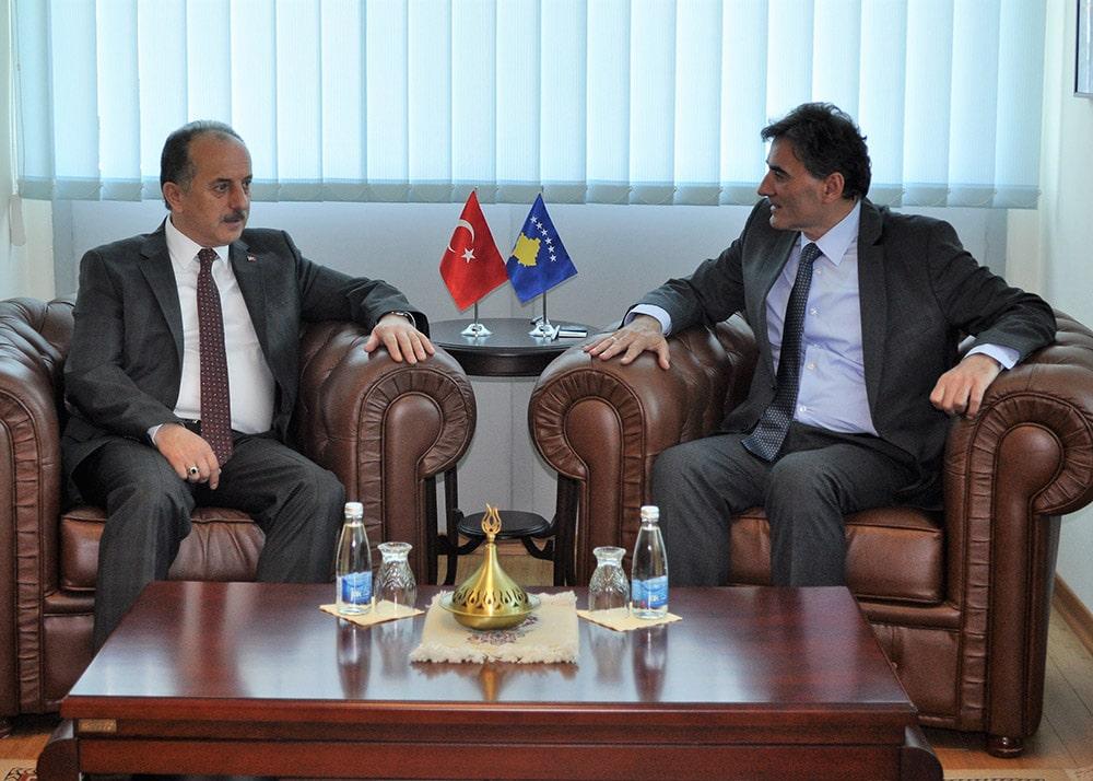 Bakan Yağcılar Bağcılar Belediye Başkanı Çağırıcı'yı Kabul Etti