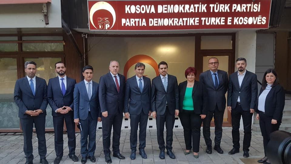 YTB Başkanı Eren KDTP'yi ziyaret etti