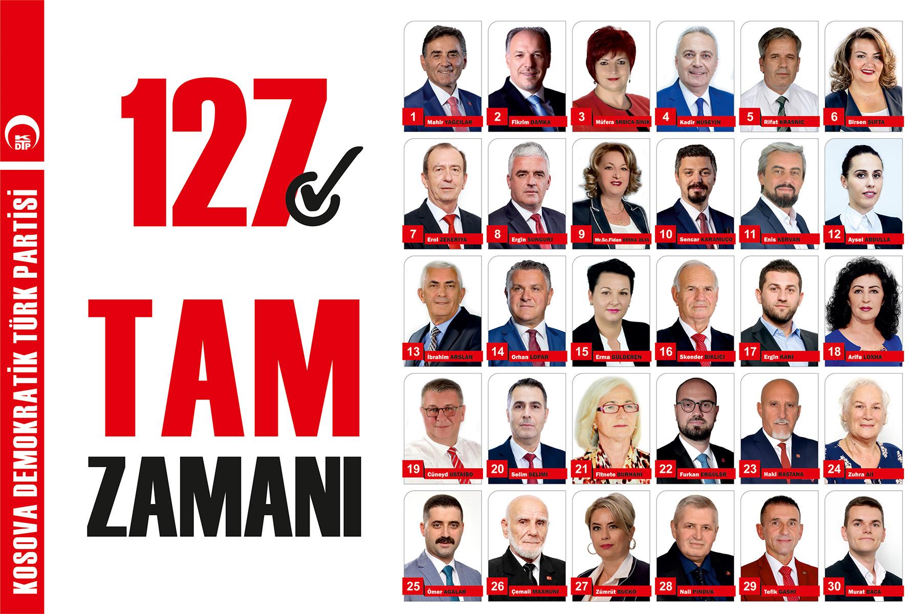 127√ KDTP Milletvekilleri Adaylarımız