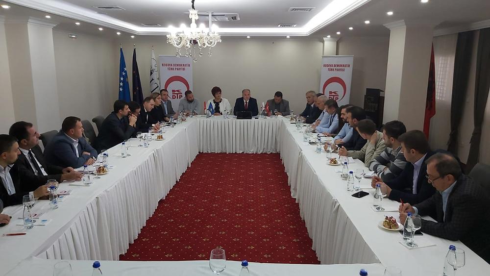Damka Başkanlığında ilk MYK Toplantısı Gerçekleştirildi