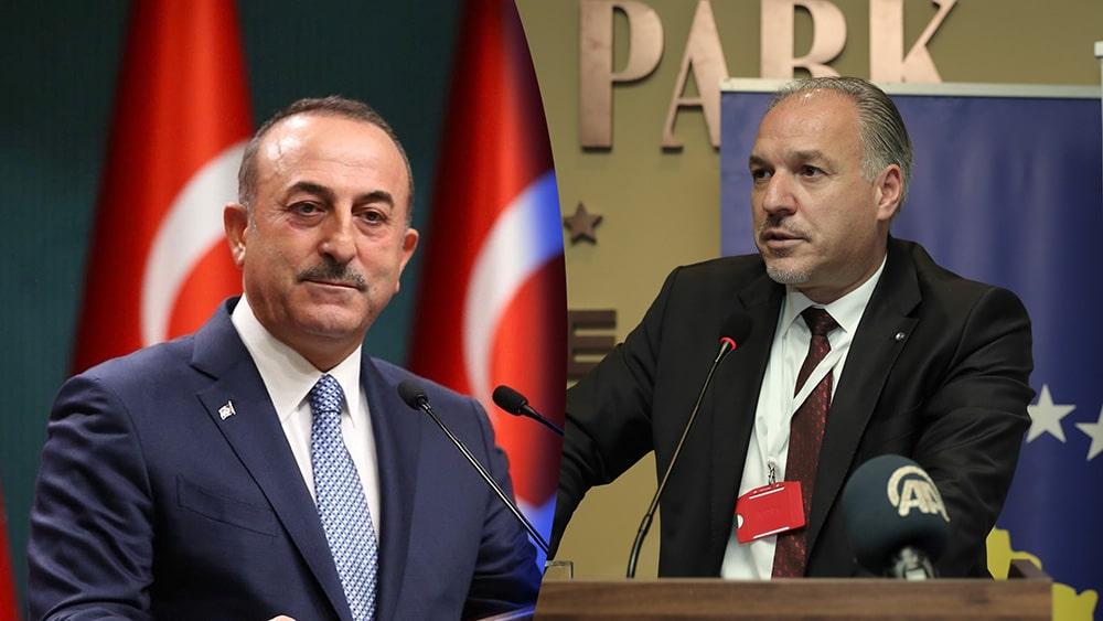 Turkiye Cumhuriyeti Dışişleri Bakanı Mevlüt Çavuşoğlu'ndan kutlama