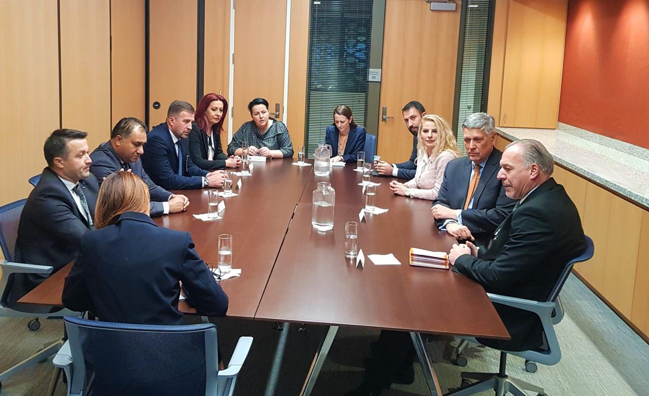 Genel Başkanımız ve Topluluk Milletvekilleri Kosnett ile Görüştü