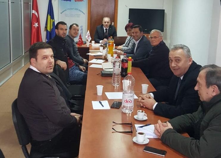 Başkanlık Kurulu Priştine'de Toplandı