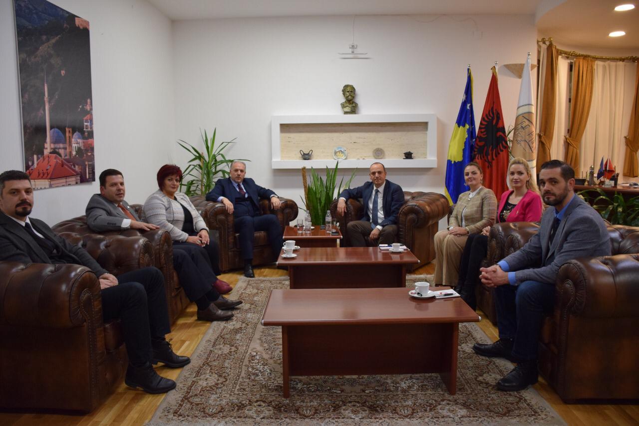 Genel Başkanımız Prizren Belediye Başkanı ile Görüştü