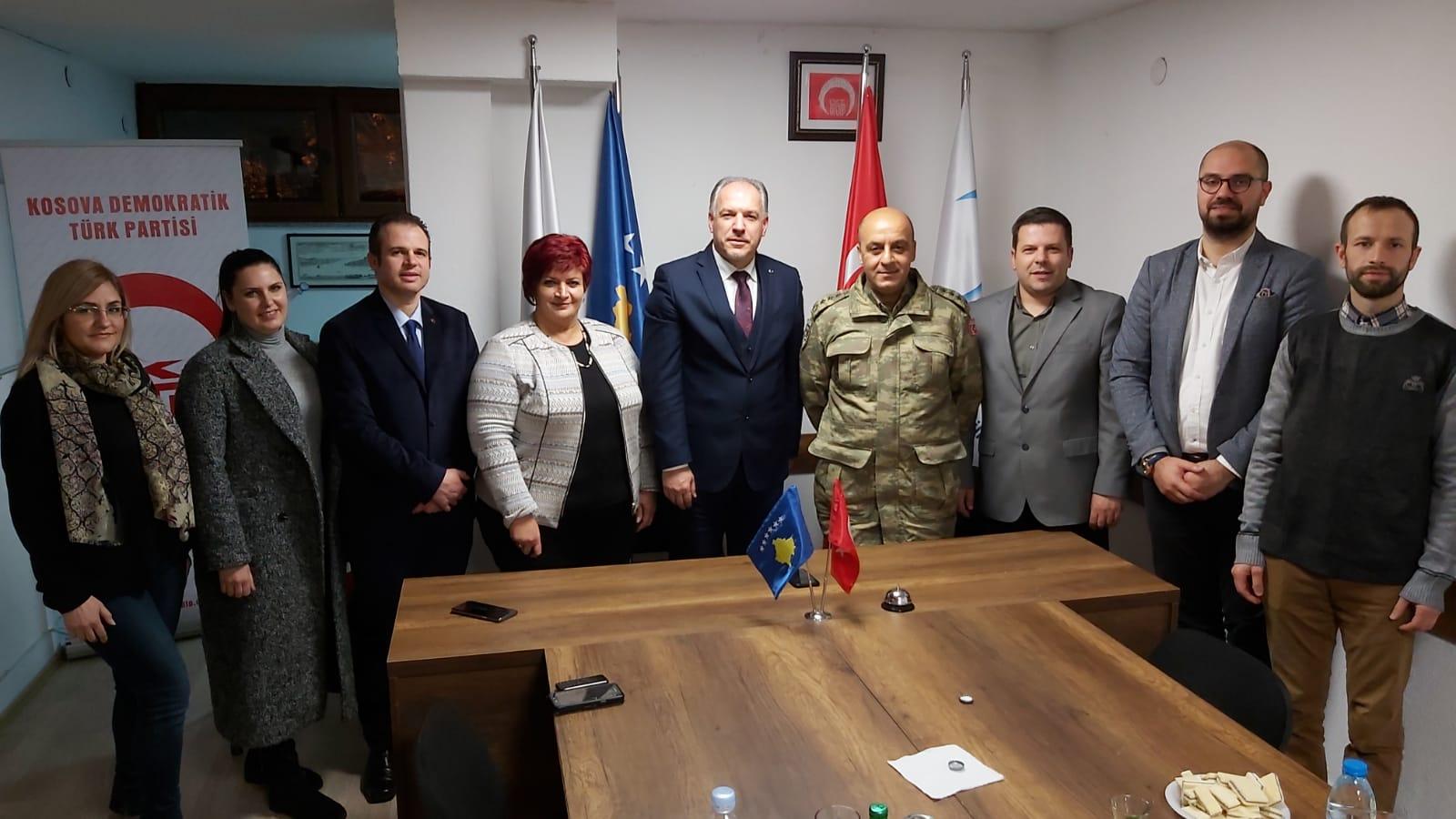 Kosova Türk Temsil Heyeti Başkanından İade-i Ziyaret