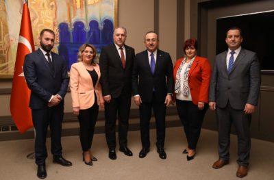 Genel Başkanımız Fikrim Damka İstanbul'da Çavuşoğlu İle Görüştü