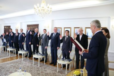 Merkez Seçim Komisyonu'na Rifat Krasniç Atandı