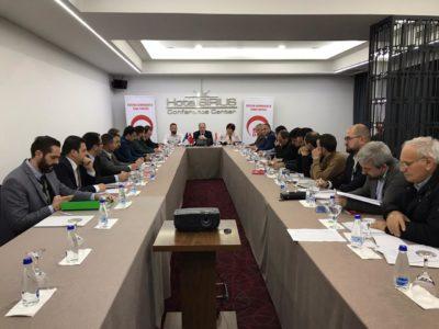 8. Dönemin 2. Merkez Yönetim Kurulu Toplantısı Gerçekleştirildi