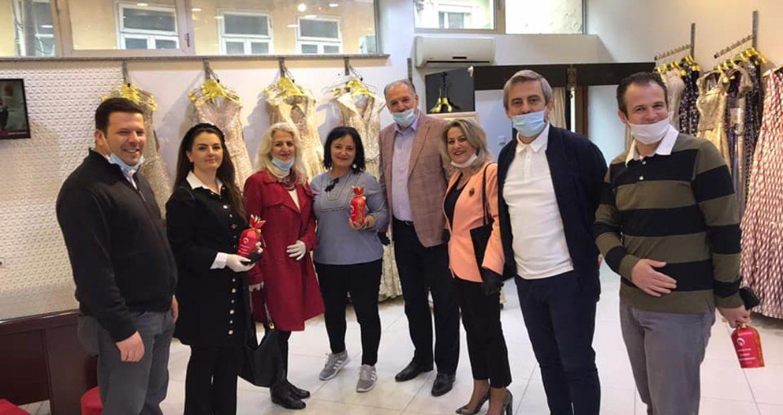 Kosova Demokratik Türk Partisi Bayram Ziyaretlerine Devam Ediyor
