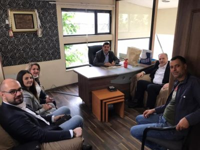 Kosova Demokratik Türk Partisi'nden Özel Sektöre Bayram Ziyareti
