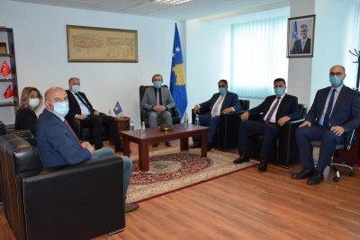 Genel Başkanımız Damka ve Topluluk Milletvekilleri, Bakan Kervan'ı Ziyaret Etti