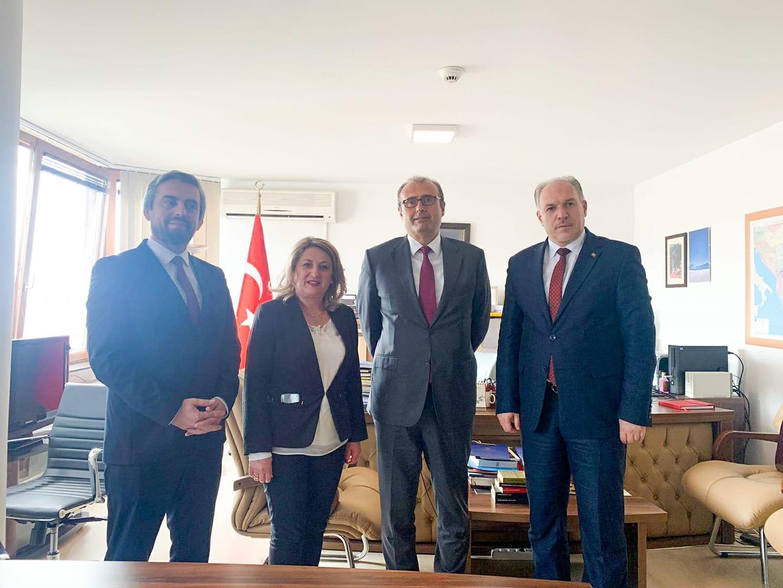 KDTP'den Büyükelçi Sakar'a Ziyaret