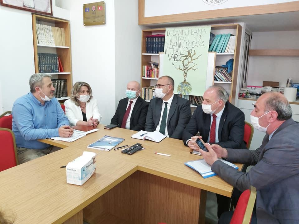 Kosova Öğretmenler Derneği'ni ziyaret