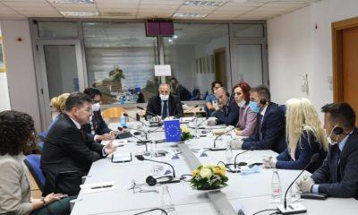 Lajcak, Genel Başkanımız Damka ve Topluluk Milletvekilleri ile Görüştü
