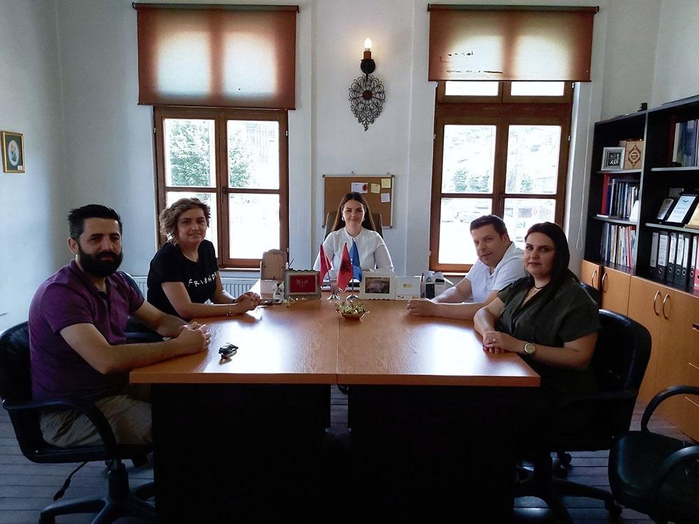 Prizren Belediyesi Turizim ve Ekonomik Kalkınma Müdürlüğüne Ziyaret
