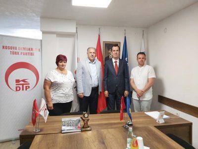 TİKA Kosova Koordinatöründen Veda Ziyareti