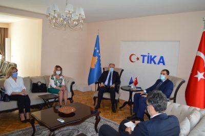 Başkan Damka ve Milletvekili Jılta'dan, Tika Priştine Koordinatörü'ne Hoşgeldin Ziyareti