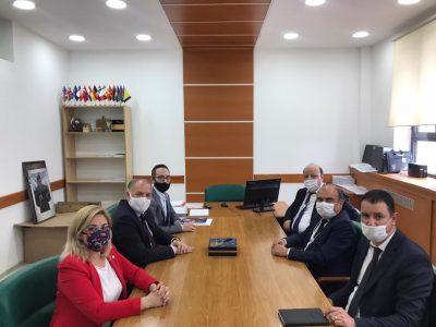 Kosova Türkiye Ticaret Odası-KTTO'ndan, Başkan Damka'ya Ziyaret