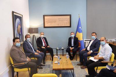 Sağlık Bakanı Armend Zemaj ile Görüşme