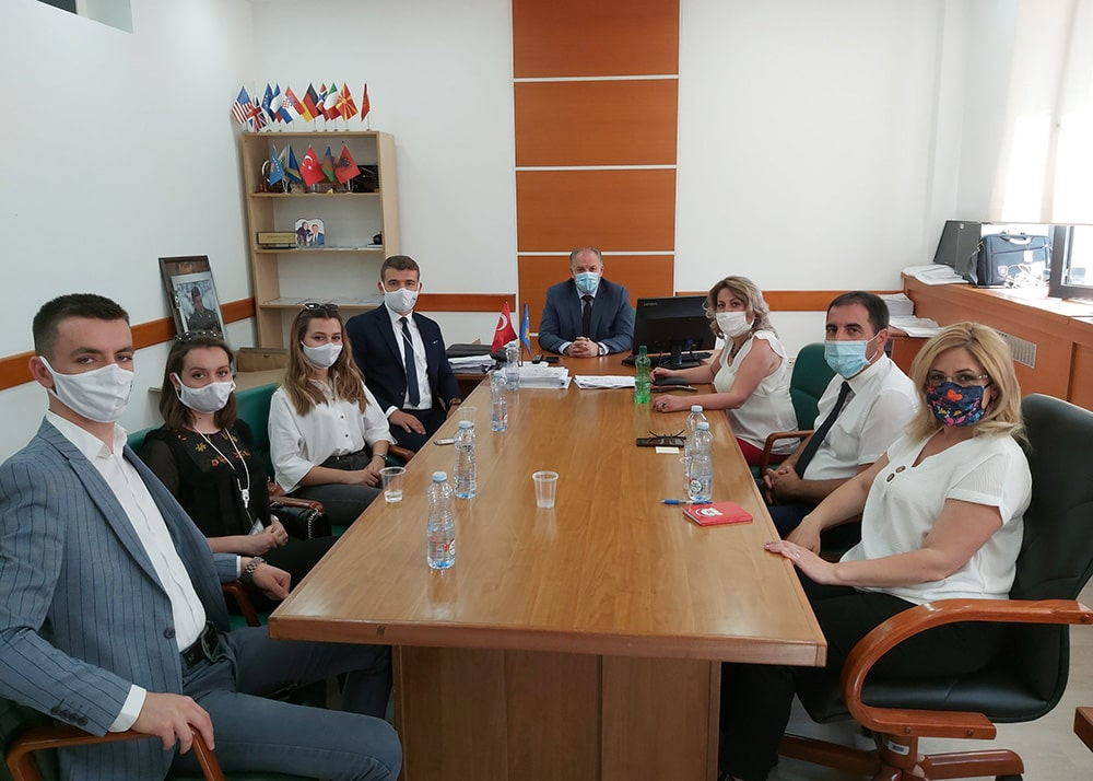 Türkiye'de Okuyan Kosovalı Öğrenciler Birliği Ziyareti