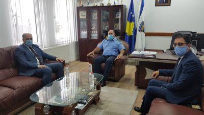 Genel Başkanımız Fikrim Damka'dan Prizren Bölge Polis Müdürü Faton Alija'ya Ziyaret