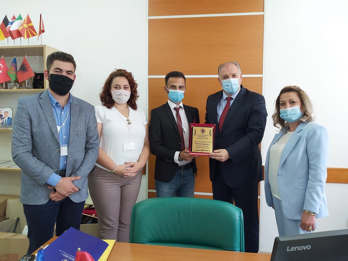 Kosova Yardımlaşma ve Dayanışma Derneği'nden Ziyaret