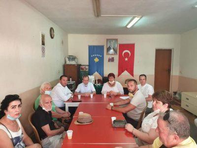 Merkez heyetten Mitroviça ve Vuçıtrın şubelerine ziyaret