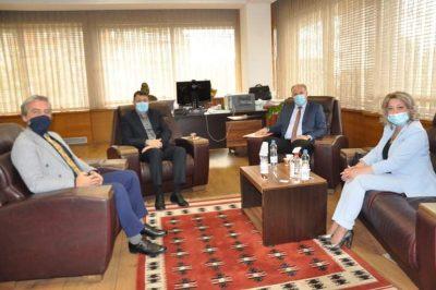Eğitim Bakanı İle Türkçe Eğitim Sorunları Hakkında Görüşüldü