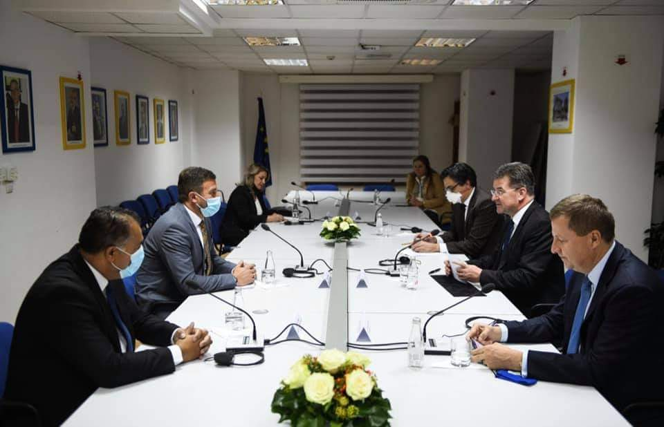 AB Özel Temsilcisi Miroslav Lajçak ile Görüşme Gerçekleştirildi