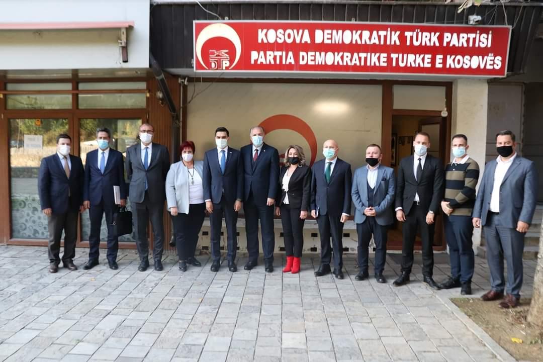 YTB Başkanı Abdullah Eren'den KDTP'ye Ziyaret